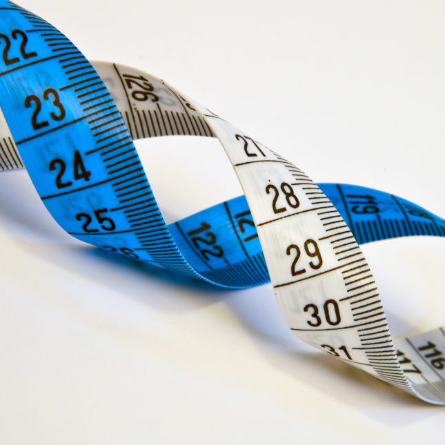 Tape measure helix