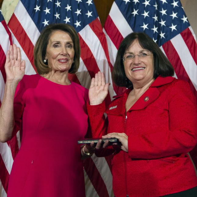 Annie Kuster & Nancy Pelosi