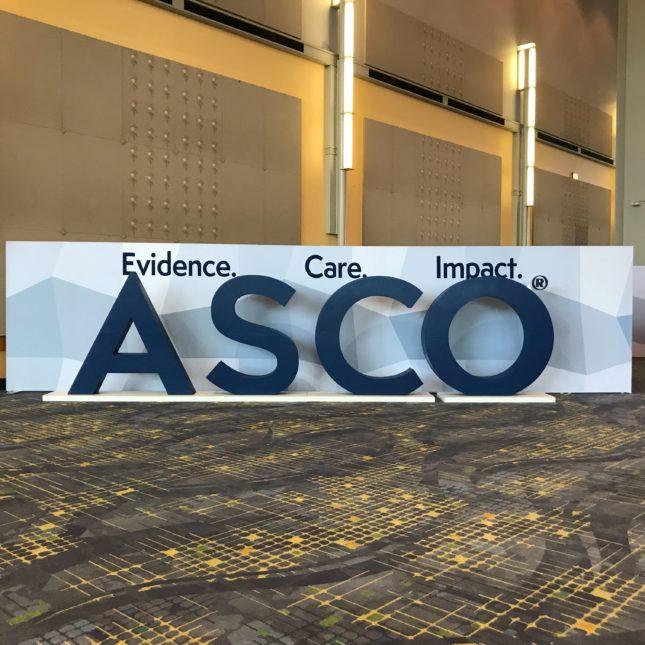 ASCO 2019 signage