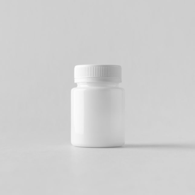 Stark medication bottle