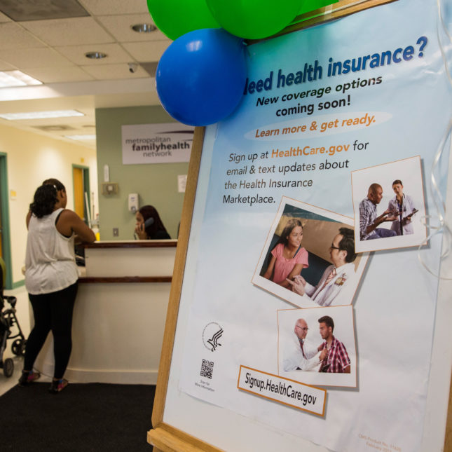 Affordable Care Act - insurance sign up