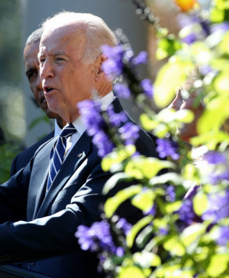 Vice President Joe Biden Announces He's Not Running For President