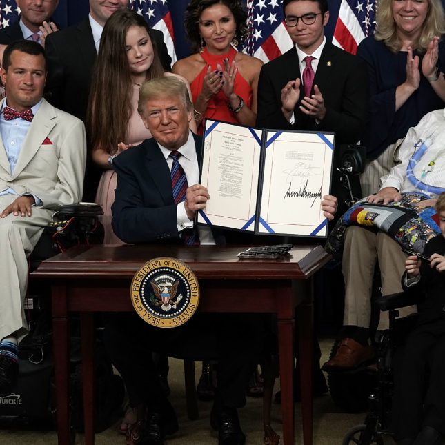 "President Trump Signs ""Right To Try"" Act"