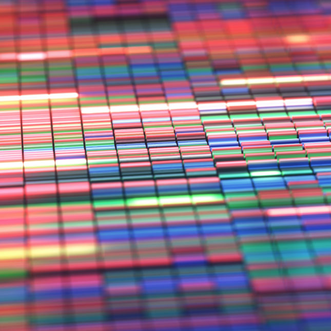 colored DNA sequencing