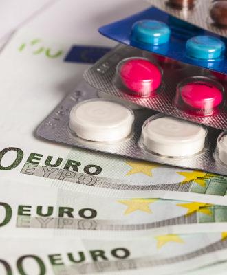 Drug pricing euros