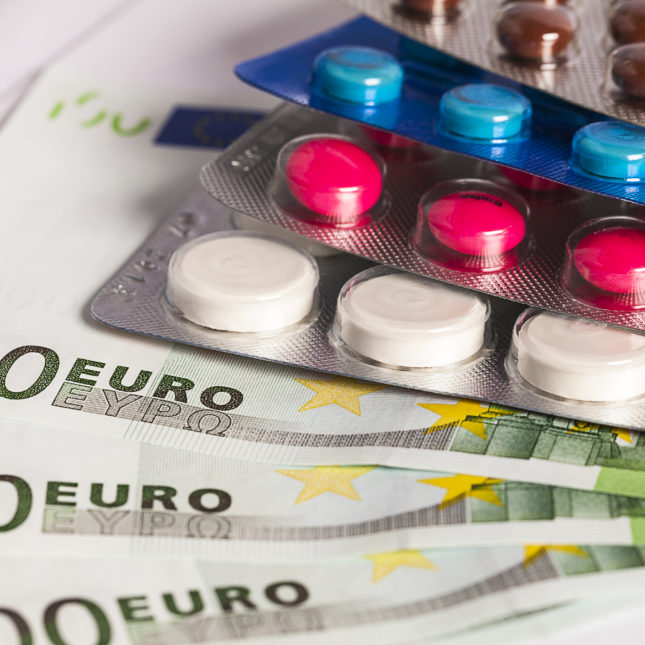 Drug pricing euros