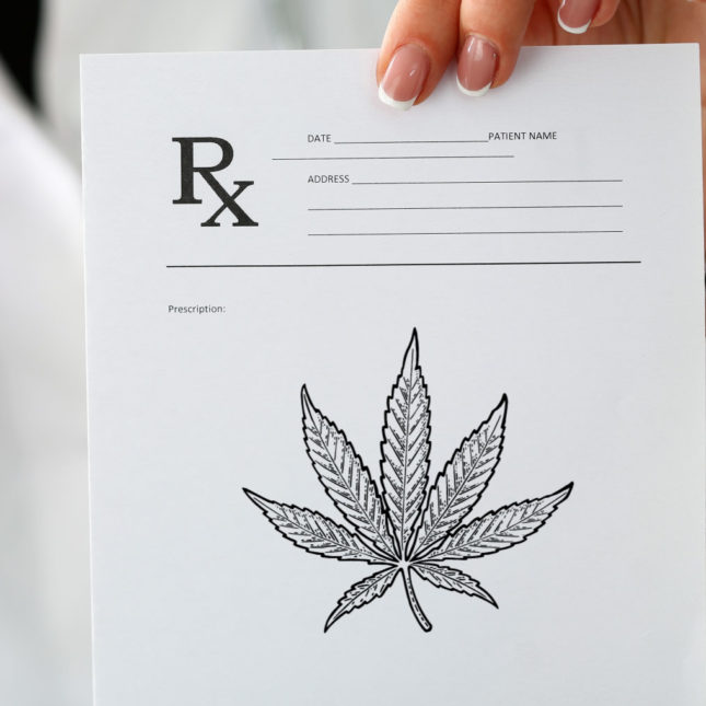 weed prescription