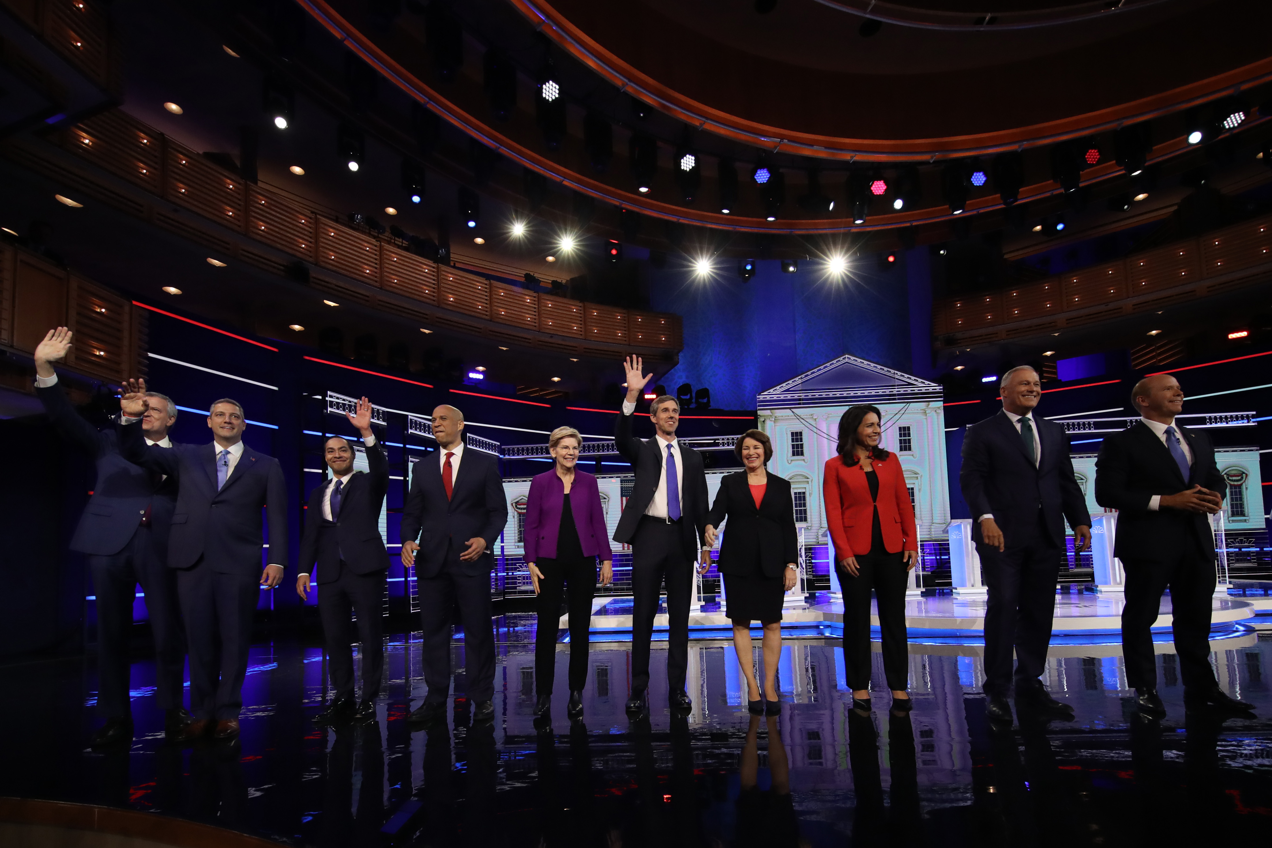In first 2020 debate, Democrats escalate their attacks on pharma and its high prices