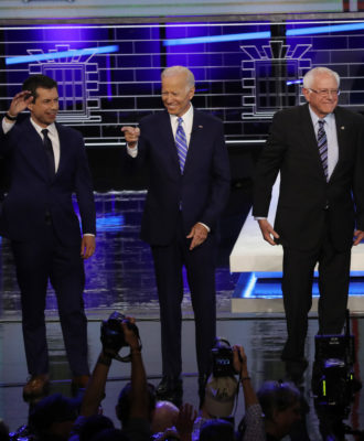 Dem debate night two