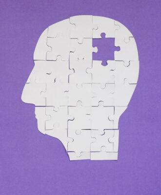 Memory loss illustration