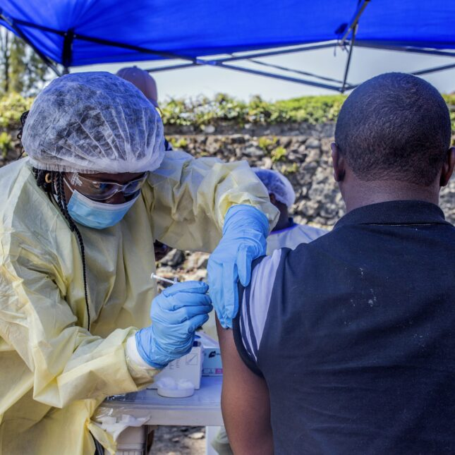 Vaccination Vital in Slowing Spread of Ebola in DRC