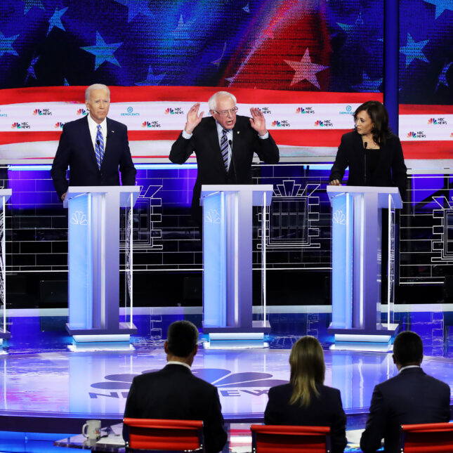 Democratic Presidential Candidates Participate In First Debate Of 2020