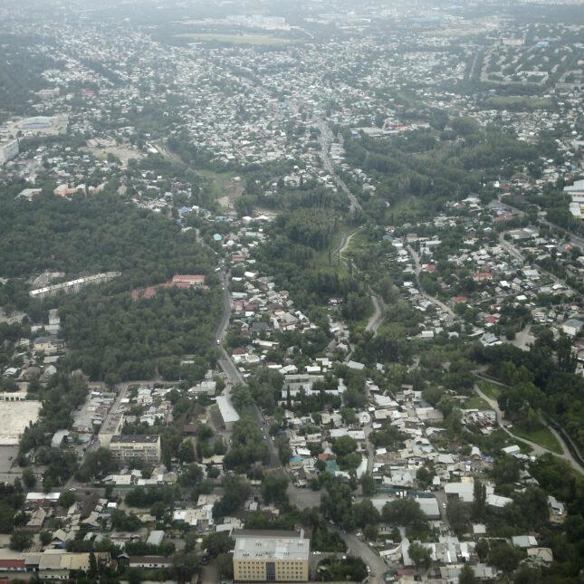 Almaty aerial