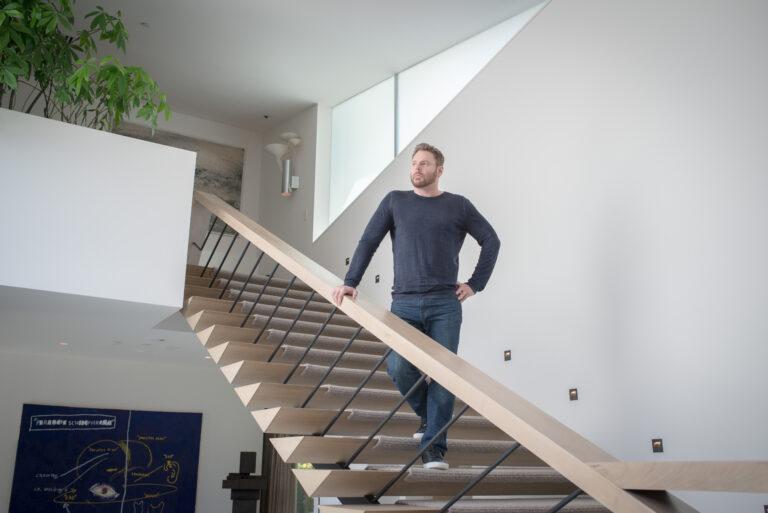 Sean Parker in home