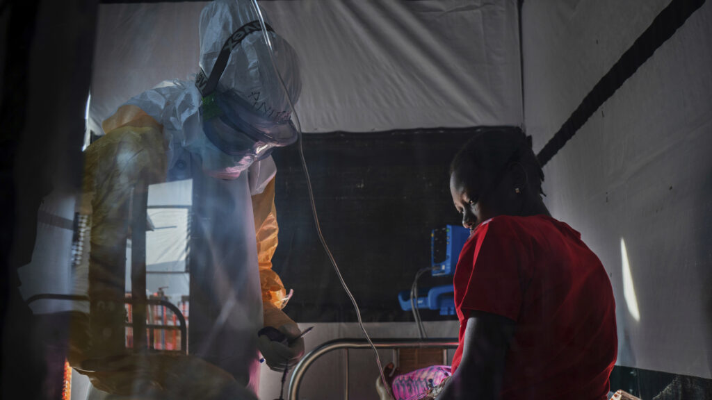 For the first time, clinical trial data show Ebola drugs improve survival rates