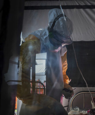 Ebola health workers July 2019
