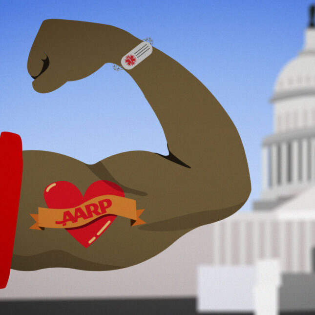 AARP flexes muscle