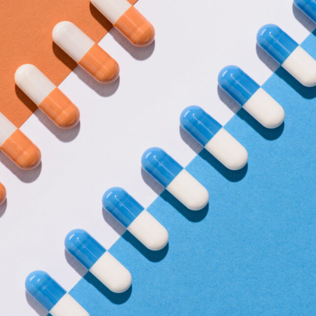Pills copying pills