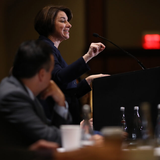 Amy Klobuchar - mental health policy