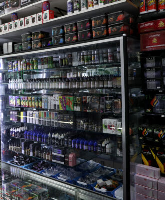 Vaping shop