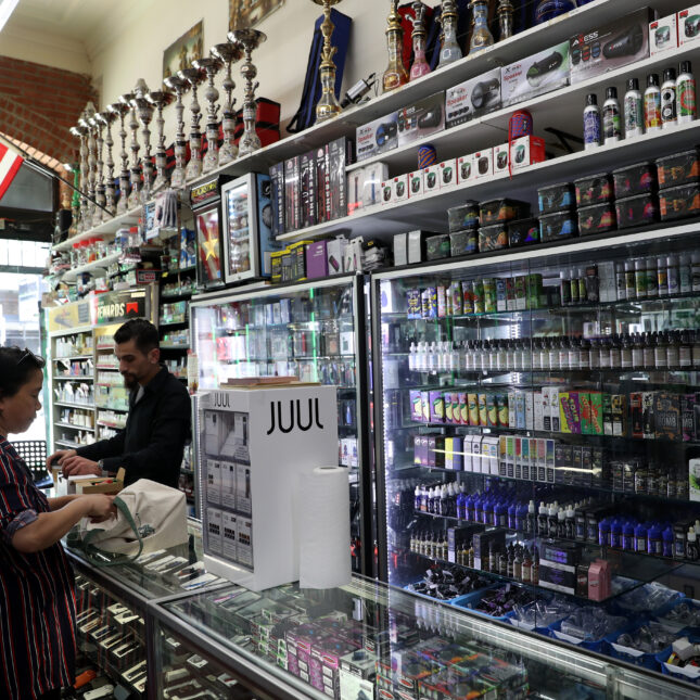 Vaping shop