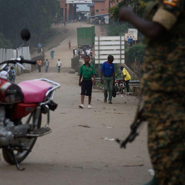 UGANDA-DRC border EBOLA