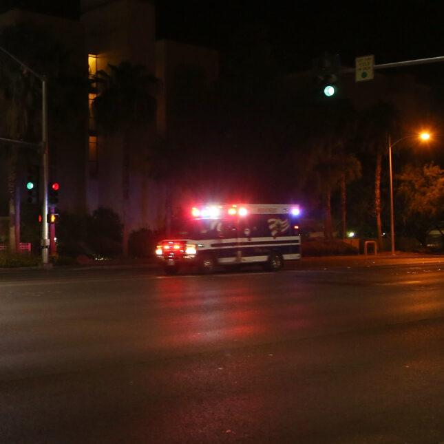 Ambulance - night