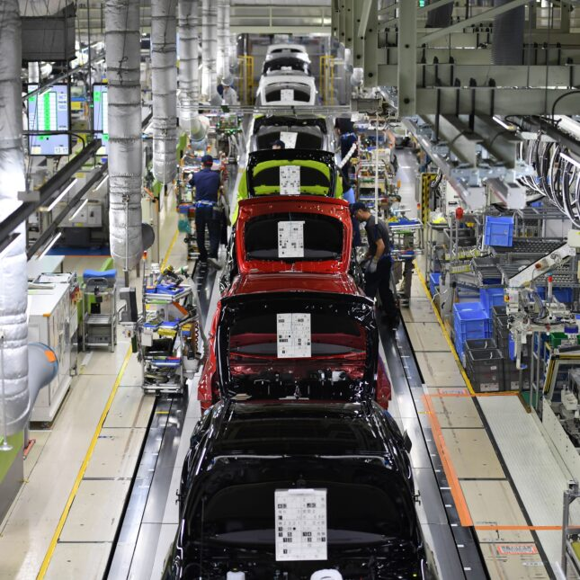 TOYOTA factory