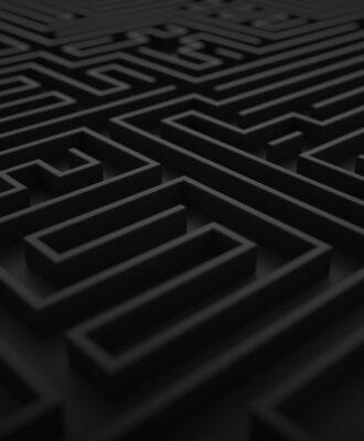 Borgesian labyrinth
