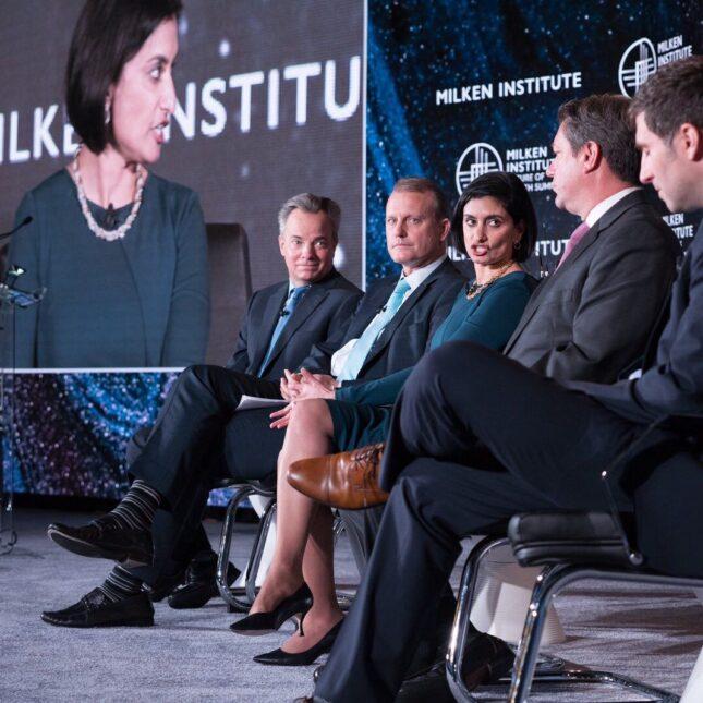 Milken Institute 2019 panel