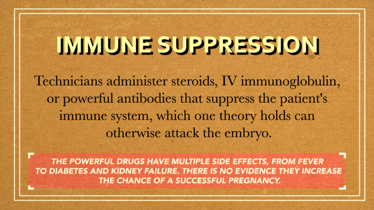 Immune suppression
