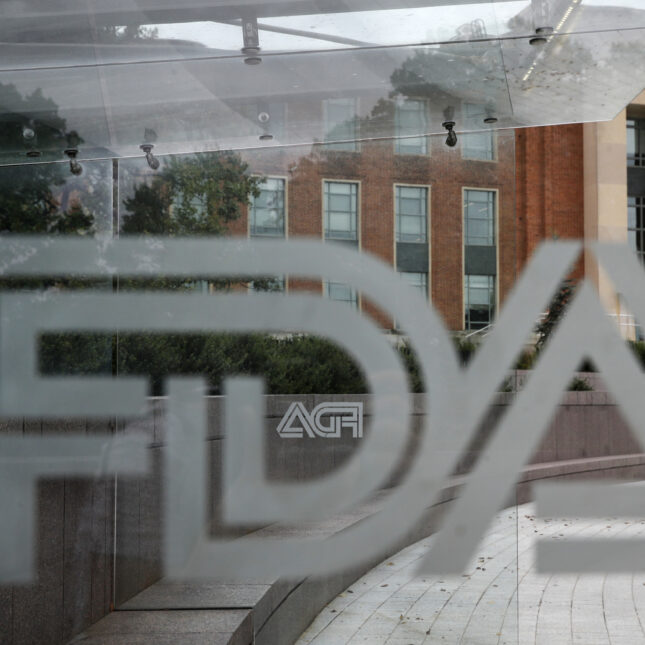 FDA through the window