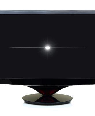 flat screen TV turning off
