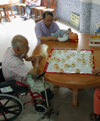 Dementia patients - China