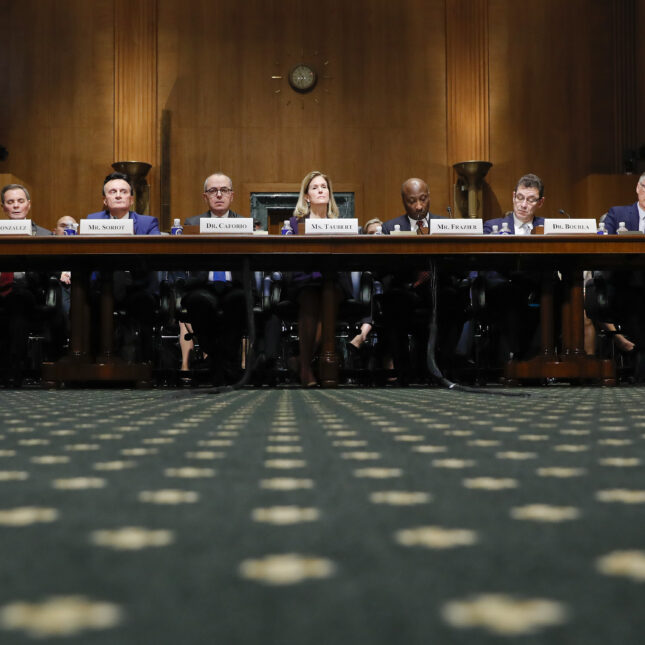 Senate Finance Committee hearing on drug prices