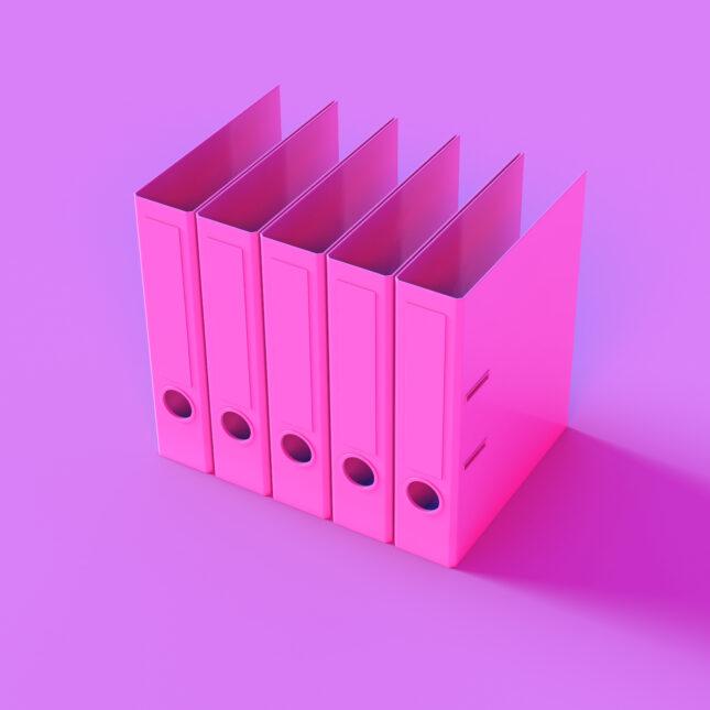 Empty file folders