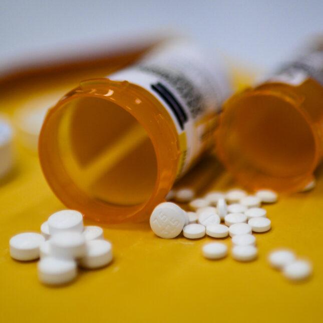 Opioid photo illustration