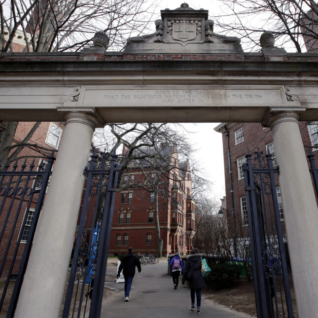 U.S. charges Harvard professor with lying about links to Chinese government