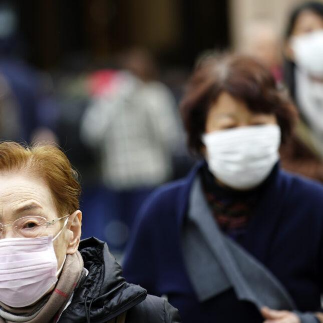 Japan China Pneuomnia