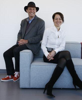 Alexis Borisy and Melanie Nallicheri
