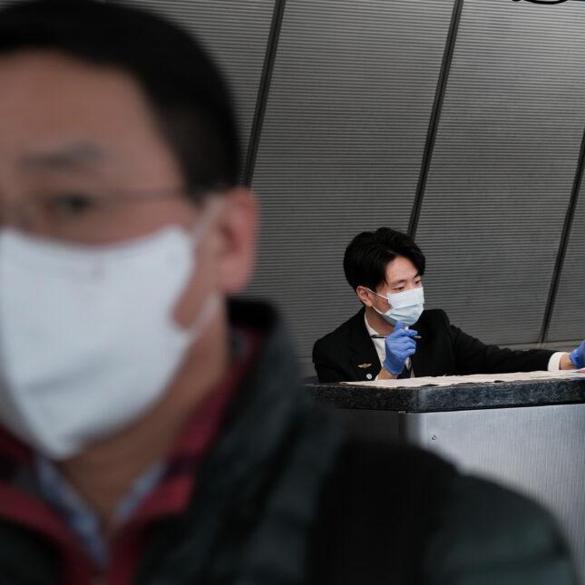 JFK airport China flights