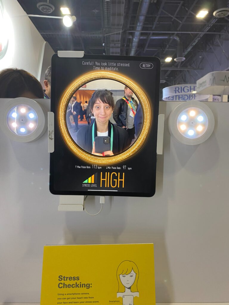 At CES, digital health gadgets gave me a detailed accounting of my flaws and failures