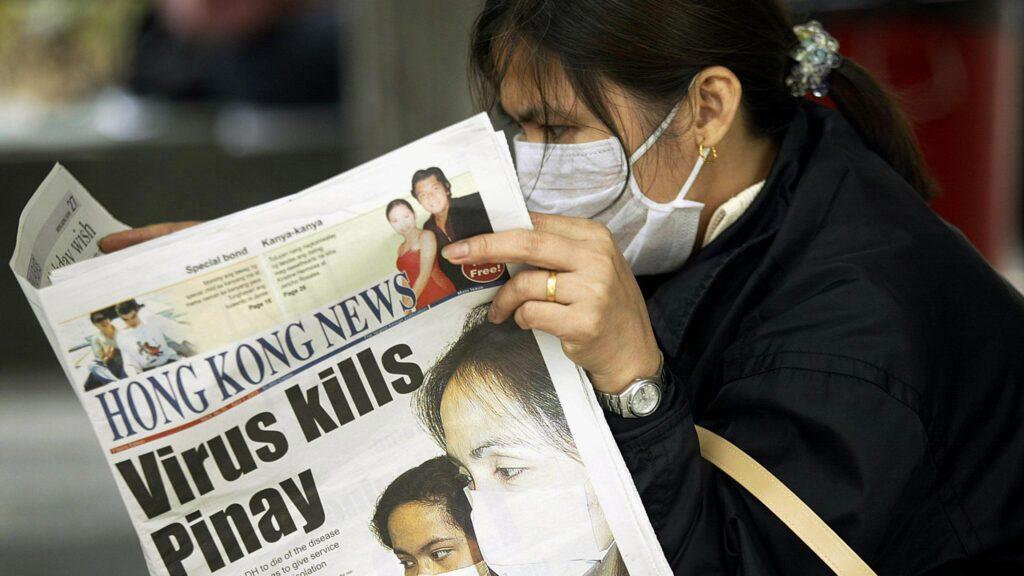 SARS/Hong Kong 2003