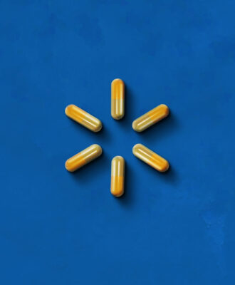 Walmart health illustration