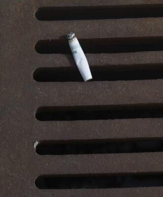 Cigarette all alone