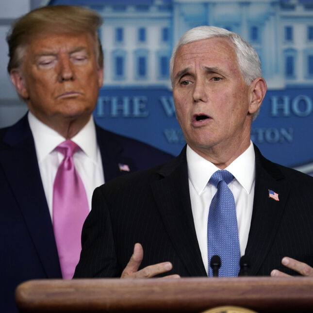Trump Pence coronavirus briefing