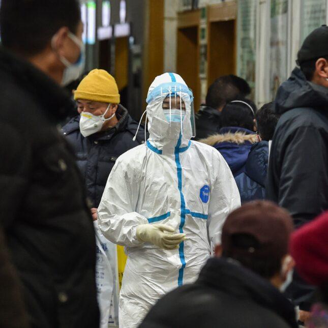 A medical staff member - Wuhan