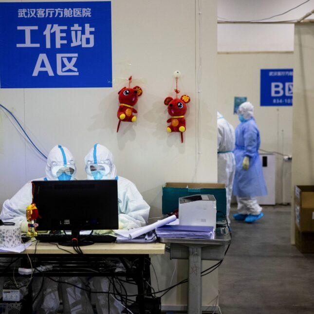 Hubei province med staff