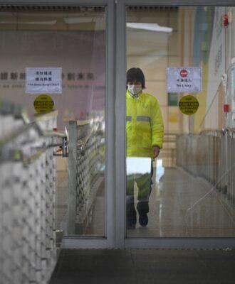 Hong Kong port quarantine