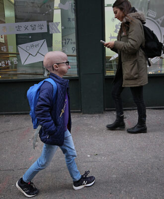 Meghan Waldron is a freshman at Emerson College with progeria, one of the world's rarest diseases.